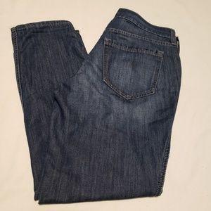 Eddie Bauer boyfriend slim leg soft jeans